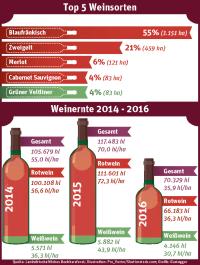 Weinlese Oberpullendorf Grafik