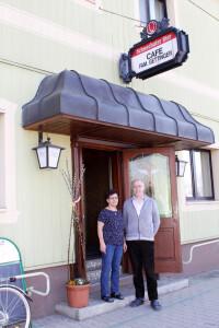 Parndorf Abschied vom Café Gettinger