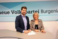 Christoph Wolf und Maria Zoffmann