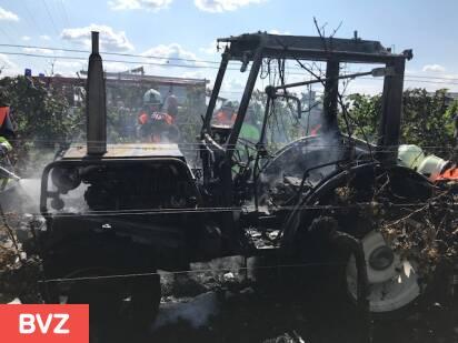 Traktorbrand Schützen