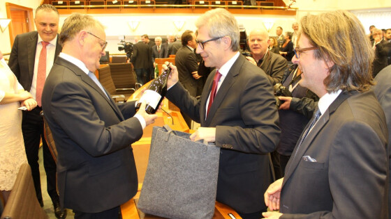 Überraschung im Landtag - Austritt aus LBL: Gerhard Hutter macht solo weiter
