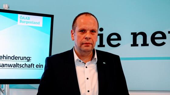 Der ÖVP-Spitzenkandidat für die AK-Wahl: Johannes Mezgolits