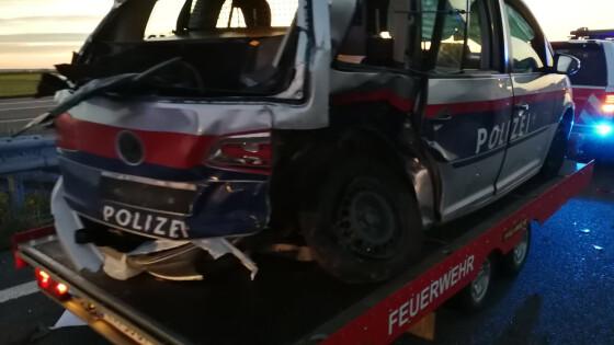 Verkehrsunfall auf A3 Wulkaprodersdorf