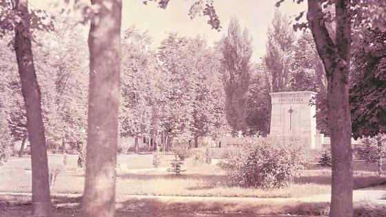 1940 – Kriegerdenkmal im Stadtpark