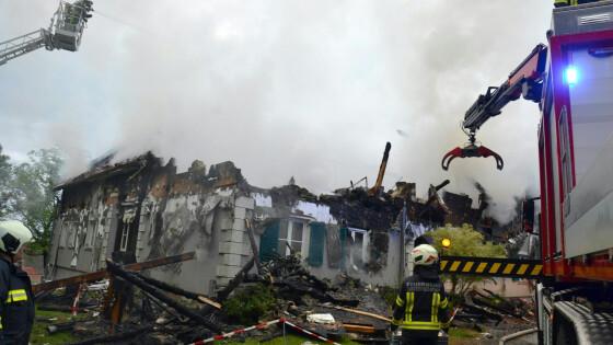 Bauernhof Brand Bezirk Güssing