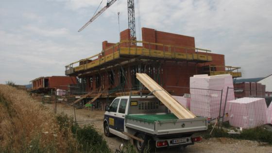 Baustelle Hirschkreitgasse