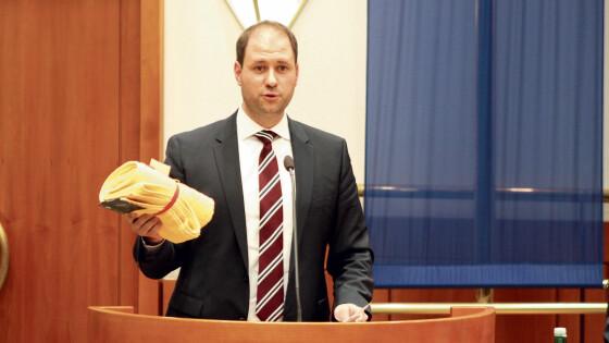 Sagartz Landtag Burgenland Eisenstadt Wirbel um Handtücher Handtuch