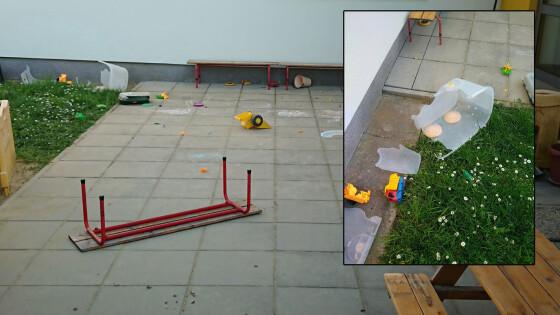 Vandalismus in Steinberg - Kinder verwüsteten Spielplatz: Anrainerin als Zeugin