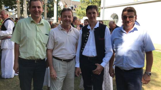 Nikitsch - Graničari feierten ihr 60 Jahr-Jubiläum