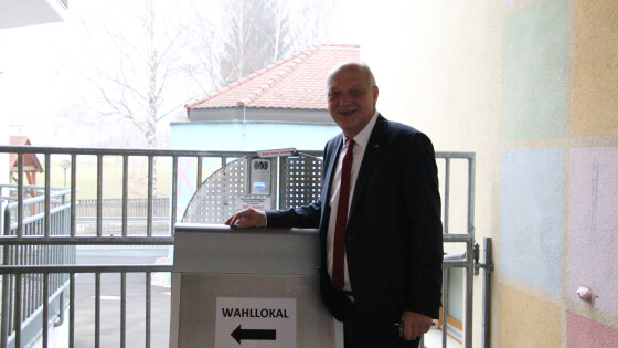 Wolfgang Sodl schaffte den Sprung über die Landesliste in den Landtag.