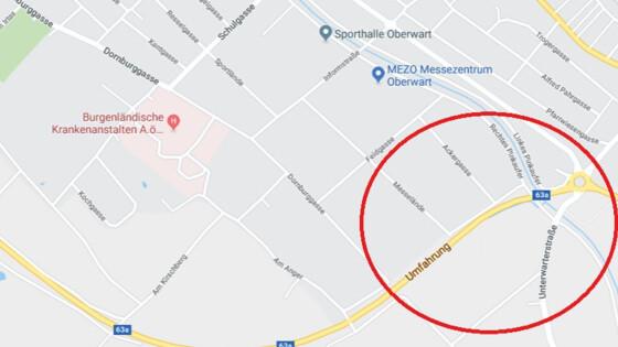 Kreisverkehr Google Maps