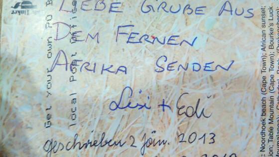 Postkarte brauchte sechs Jahre Leithaprodersdorf