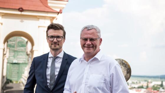 DI Clemens Biffl (Esterhazy Immobilien), LAbg. Mag. Thomas Steiner (Bürgermeister der Landeshauptstadt Freistadt Eisenstadt)