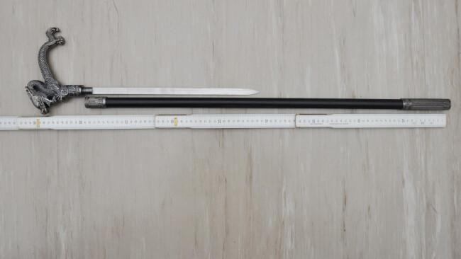 Verbotene Waffe am Flohmarkt angeboten