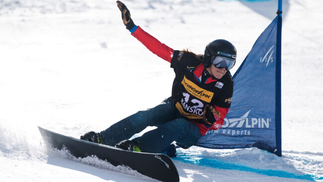 Julia Dujmovits Snowboard aus Sulz Bezirk Güssing