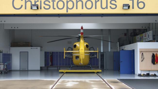 Christophorus 16 Südburgenland Rettungshubschrauber Hubschrauber Rettungseinsatz Rettung Symbolbild