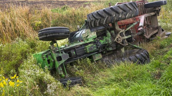Symbolbild Traktor Traktorunfall