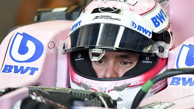 Auer hatte viel Spaß im Formel-1-Cockpit