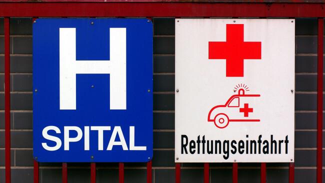Krankenhaus Symbolbild