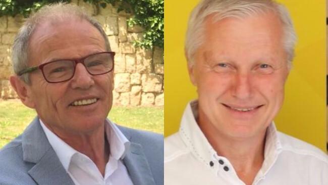 Gemeinderatswahl 2017 Burgenland Ritzing Robert Trimmel und Ernst Horvath