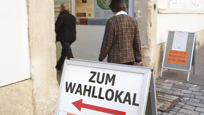 Wahl Nationalratswahl Symbolbild
