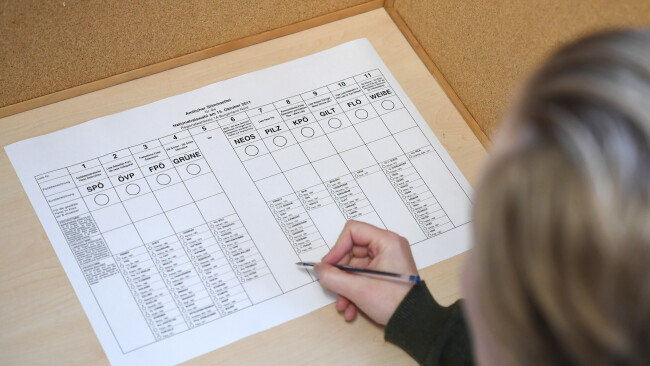 Nationalratswahl Symbolbild