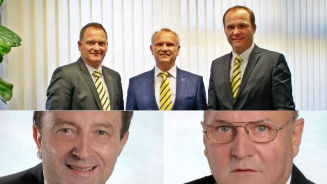 Güssing Raiffeisen Übergabe zur Jahresmitte - Neue Chefs in Güssinger Raiffeisenbezirksbank