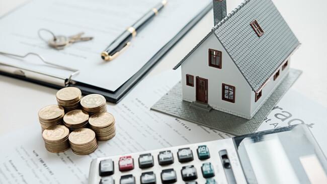 Miete Haus Wohnung Geld Symbolbild