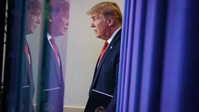 Trump spekulierte erneut über dir Ausbreitung des Coronavirus