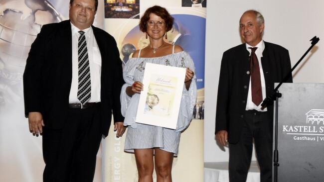 """Bezirk Mattersburg - """"Energy Globe Award"""": Auszeichnung für Treitler"""
