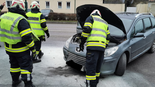 Fahrzeugbrand Gattendorf