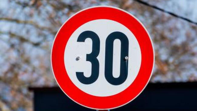 30er Zone Tempolimit