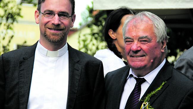 Vom Anwalt zum Priester Der aus Kroatisch Minihof stammende Stefan Jahns entschloss sich Priester zu werden