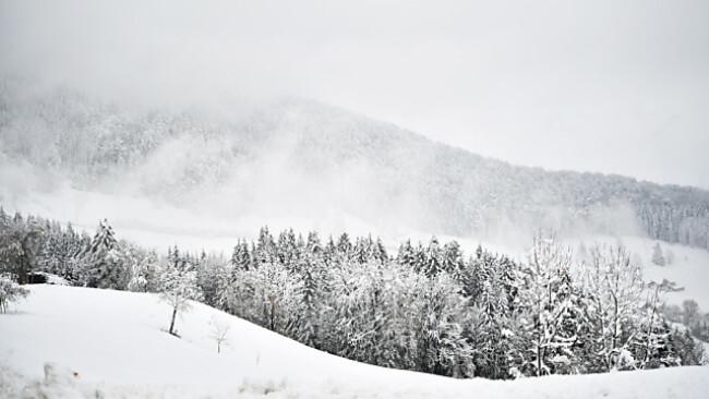 Am Mittwoch darf man fast überall mit Schnee rechnen
