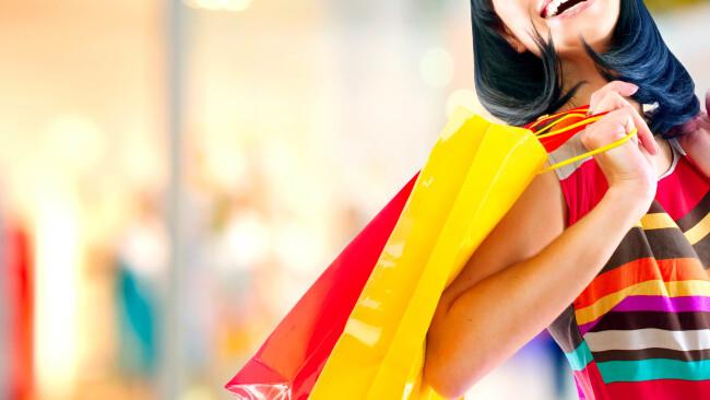 Shoppen Shopping Einkaufen Symbolbild Shops Handel Geschenke