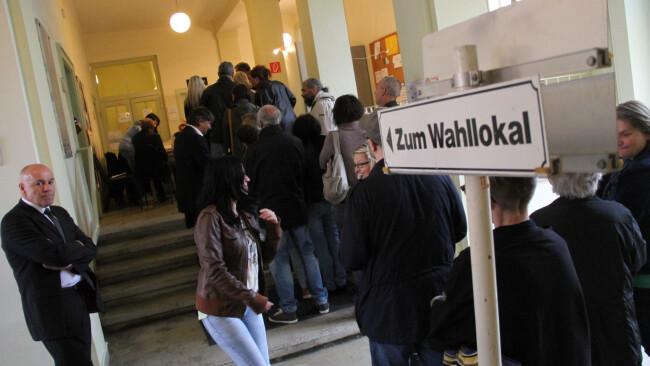 Wahltag Oberwart 2012 Symbolfoto Pekovics