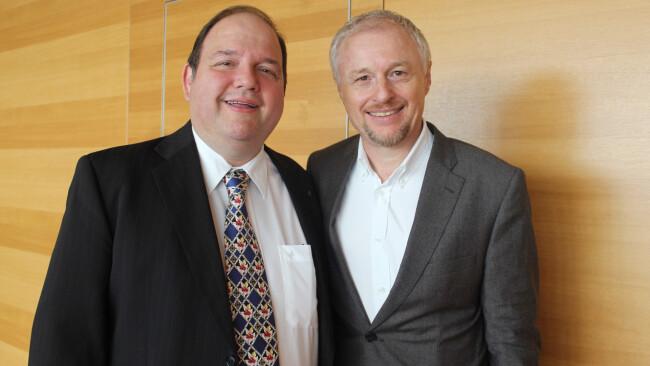 Gerald Pichowetz, Mörbisch-Geschäftsführer Dietmar Posteiner