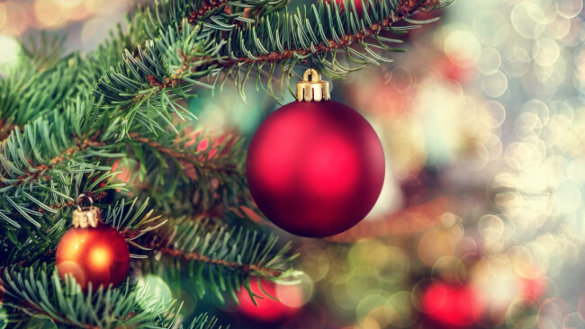 Weihnachten Christbaum Symbolbild