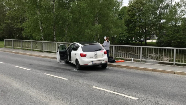 Verkehrsunfall mit Verletzter