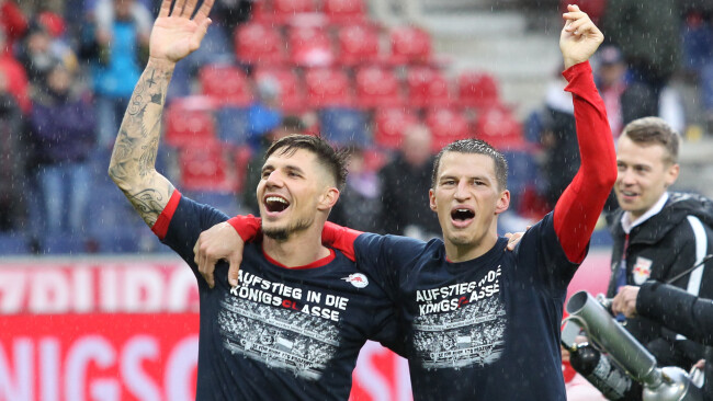 """Patrick Farkas aus Oberdorf Burgenland bei RB Salzburg """"Ich bin total bereit"""" Champions League"""