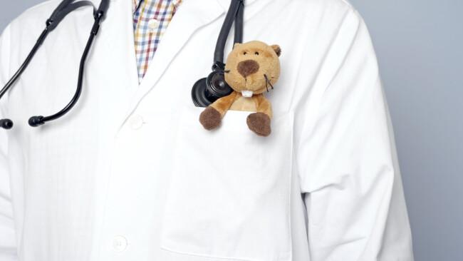 Symbolbild Kinderarzt Arzt Doktor