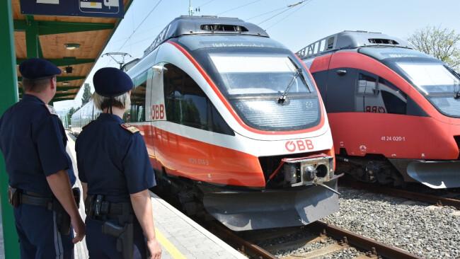 Fahndungserfolge bei PUMA-Schwerpunktkontrollen in Zügen