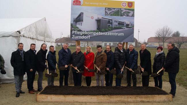 Baustart für Zurndorfer Pflegeheim