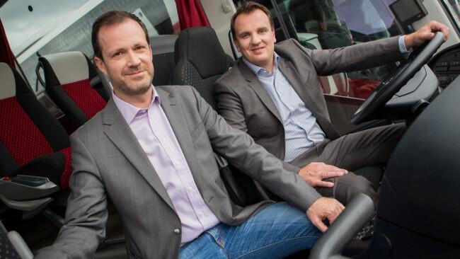 2 Männer und 550 Busse Geschäftsführer Thomas Blaguss und Paul Blaguss
