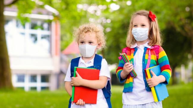 Schule Kinder Coronavirus Symbolbild