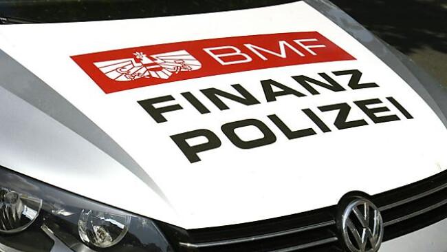 Strenge Kontrollen durch die Finanzpolizei