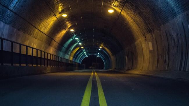 Tunnel Symbolbild