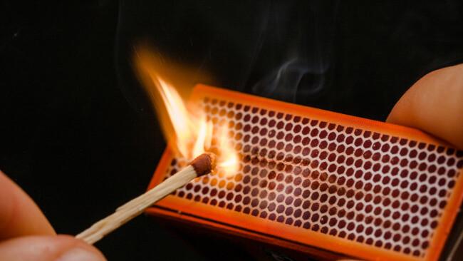 Brandstiftung Symbolbild