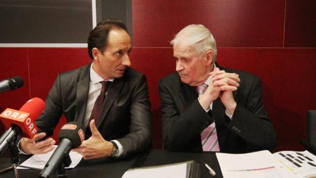 Vizebürgermeister Günter Kovacs (SPÖ) und Magistratsdirektor Walter Horvath