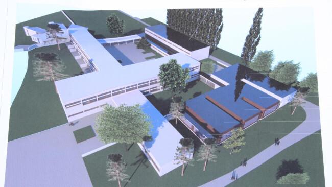 Lockenhaus Baustart für Bildungscampus